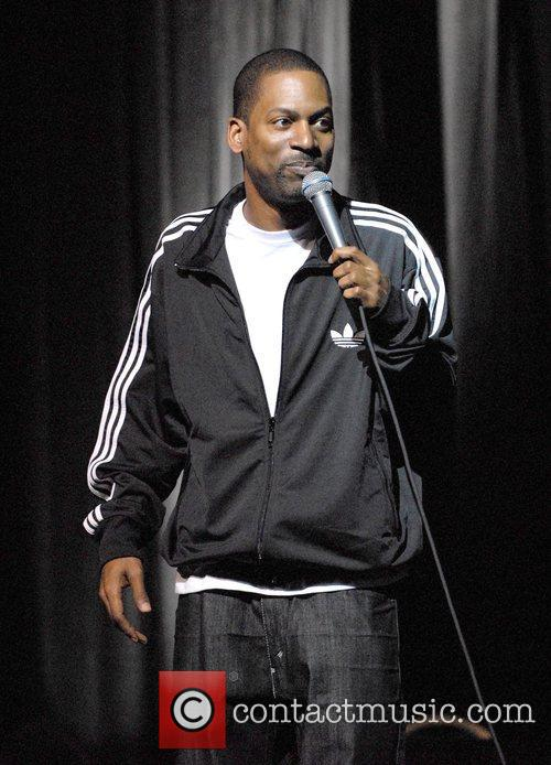 Comedian Tony Rock performs on stage during the...