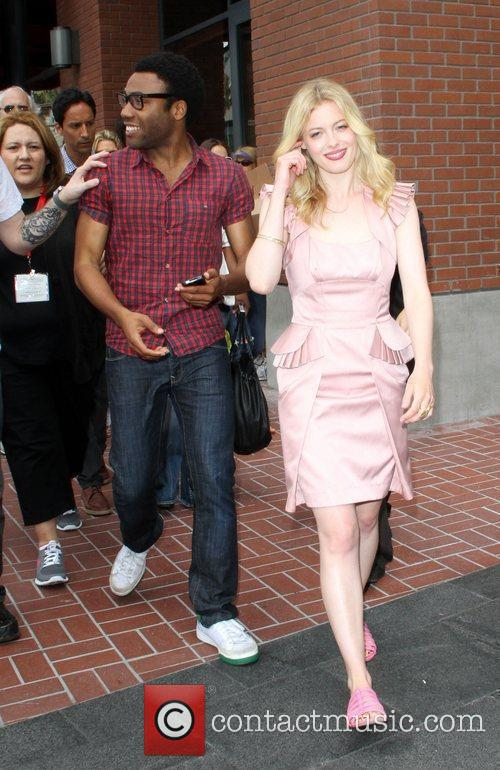 Donald Glover and Gillian Jacobs 2