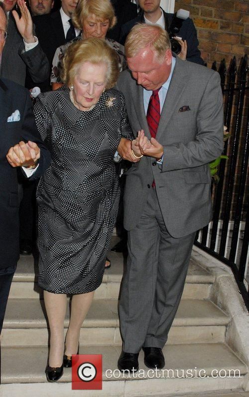 Baroness Margaret Thatcher at the Conservative Way Forward...