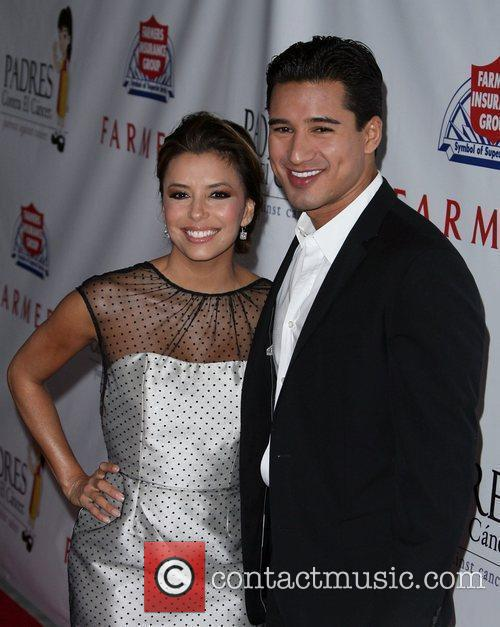 Eva Longoria, Mario Lopez and Palladium 7