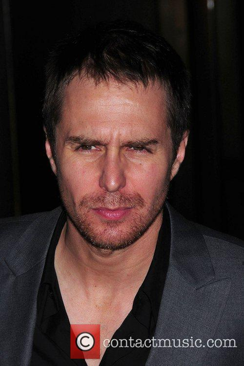 Sam Rockwell Screening of 'Conviction' held at the...