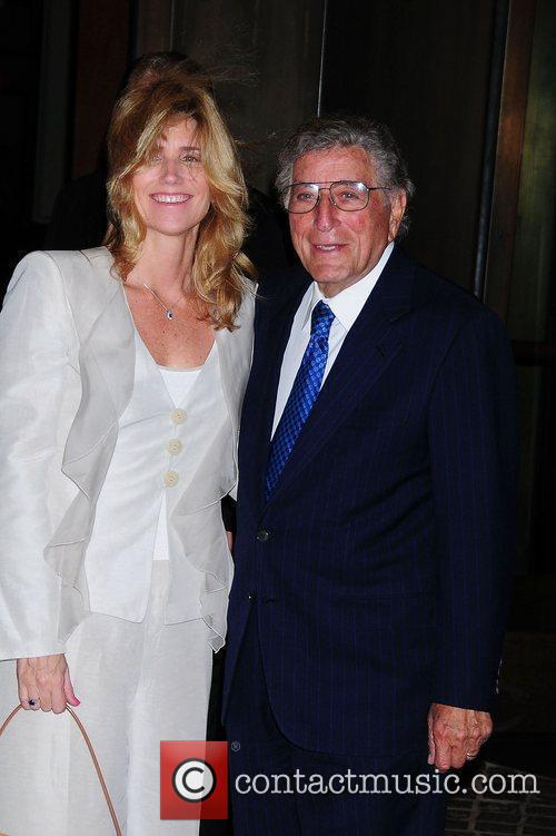 Tony Bennett and Susan Crow Screening of 'Conviction'...