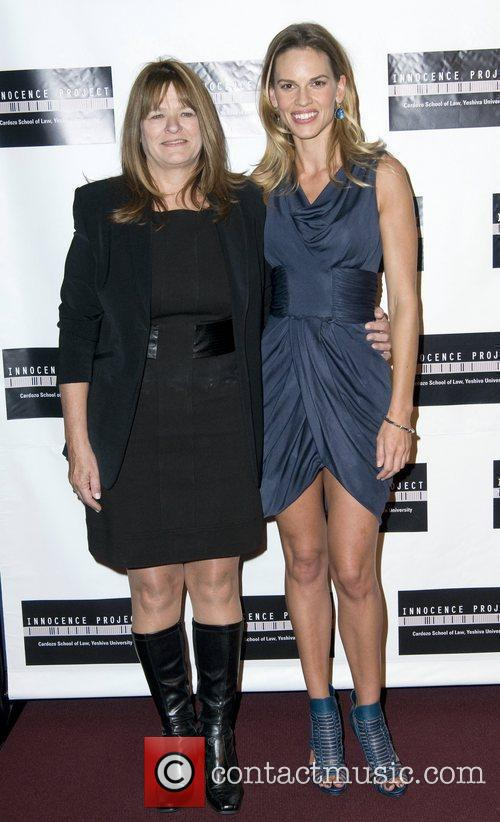 Betty Anne Waters and Hilary Swank  Screening...
