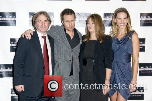 Barry Scheck, Sam Rockwell, Betty Anne Waters and...