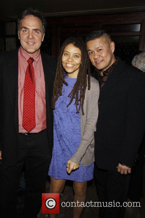 Tim Sanford, Kia Corthron, and Chay Yew attending...