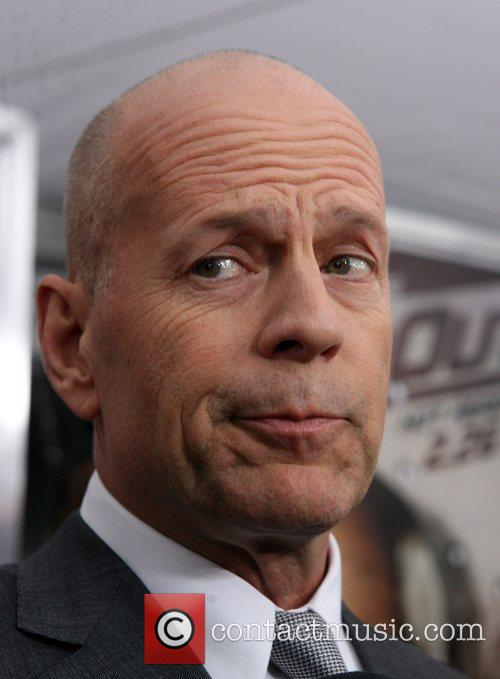 Bruce Willis Attending Cop Out Premiere
