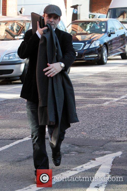 Simon Gregson from the ITV soap Coronation Street...