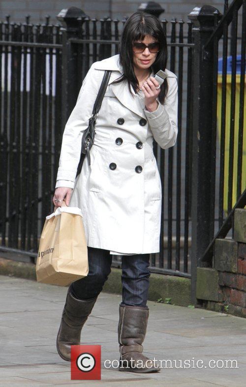 Alison King The cast of 'Coronation Street' arrive...