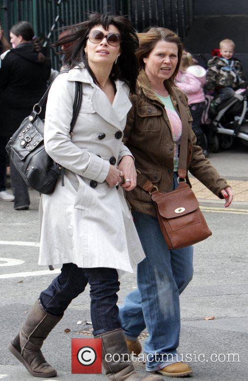 Alison King and Vicky Entwistle The cast of...
