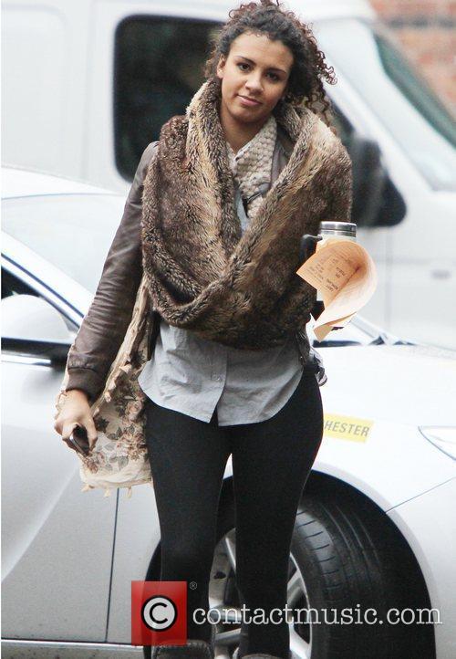 Coronation Street star Holly Quin-Ankrah leaves the Granada...