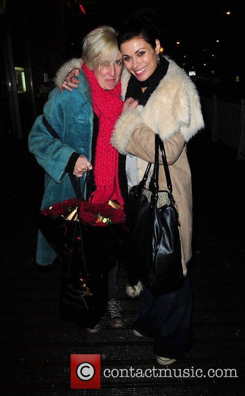 Alison King at Sukura bar after filming the...