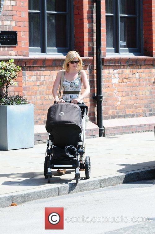 Jane Danson 'Coronation Street' cast members arriving at...