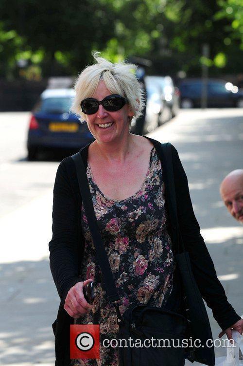 Julie Hesmondhalgh 'Coronation Street' cast members arriving at...