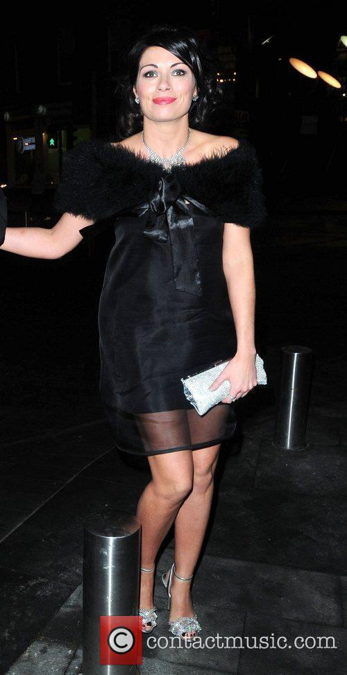 Alison King 'Coronation Street' 50th Anniversary Ball held...