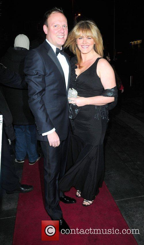 Antony Cotton and Sally Lindsey 'Coronation Street' 50th...