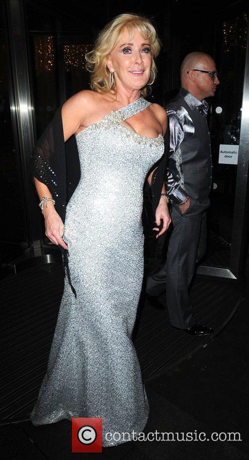 Bev Callard 'Coronation Street' 50th Anniversary Ball held...