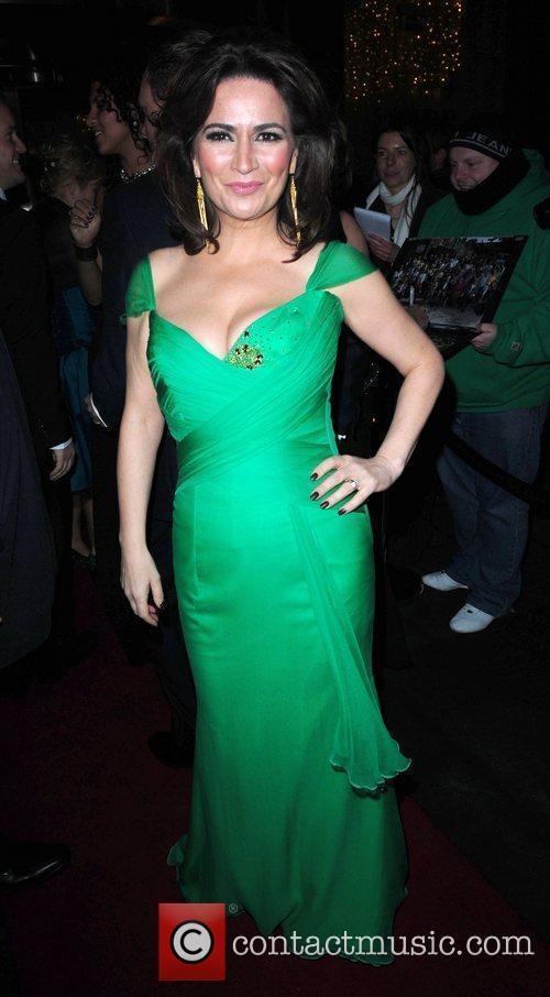 Holly Quin-Ankrah 'Coronation Street' 50th Anniversary Ball held...