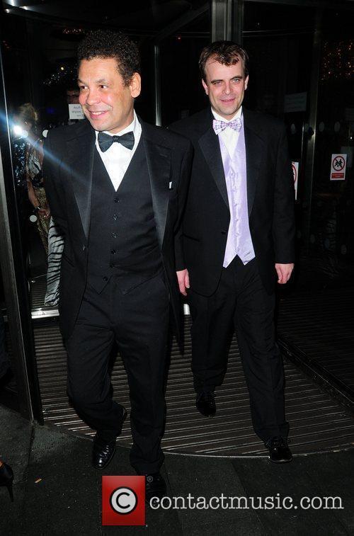 Craig Charles and Simon Gregson 'Coronation Street' 50th...