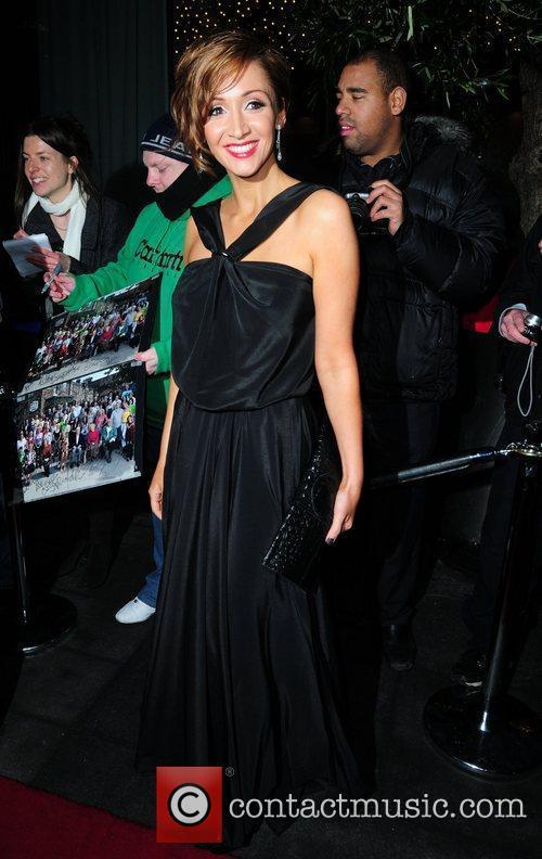 Lucy-Jo Hudson 'Coronation Street' 50th Anniversary Ball held...