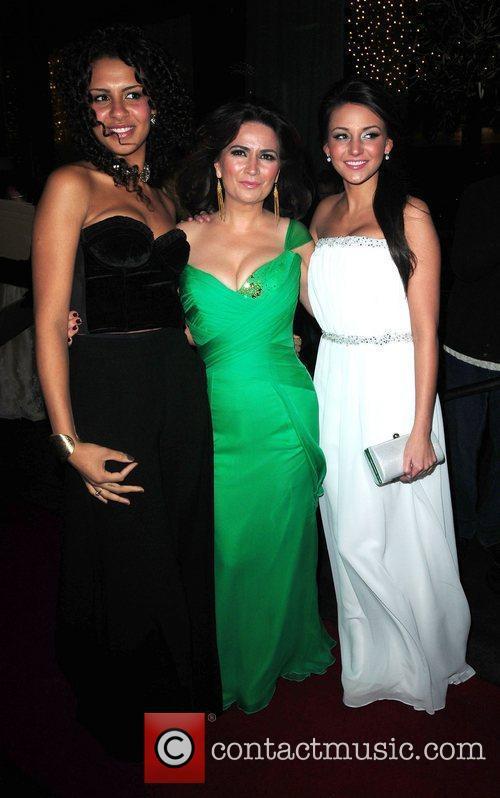 Debbie Rush, Holly Quin-Ankrah and Michelle Keegan 'Coronation...