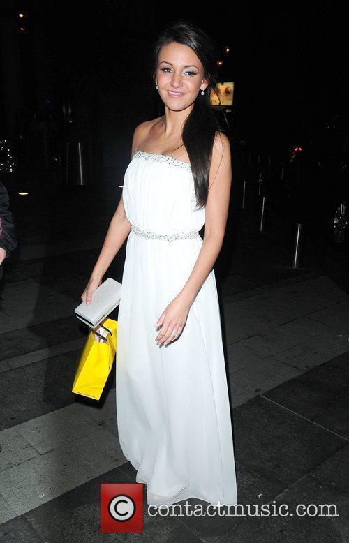 Michelle Keegan 'Coronation Street' 50th Anniversary Ball held...