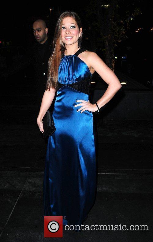 Nikki Sanderson 'Coronation Street' 50th Anniversary Ball held...