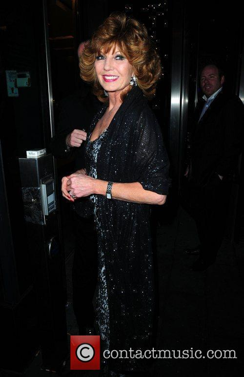 Rula Lenska and Coronation Street
