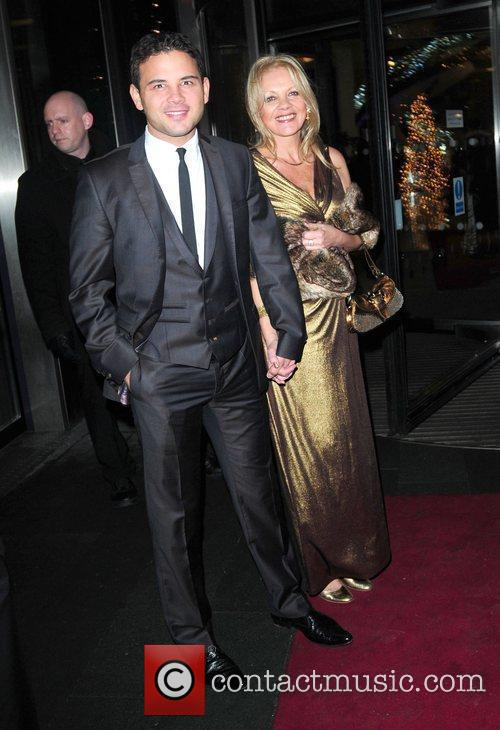 Ryan Thomas and his mum 'Coronation Street' 50th...