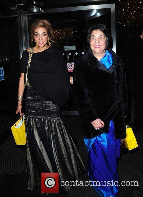 Shobna Gulati and her mum 'Coronation Street' 50th...