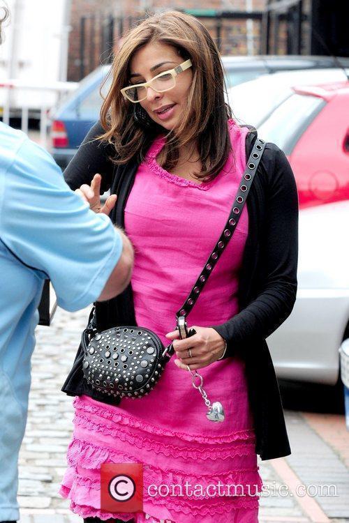 Shobna Gulati 'Coronation Street' cast members arriving at...