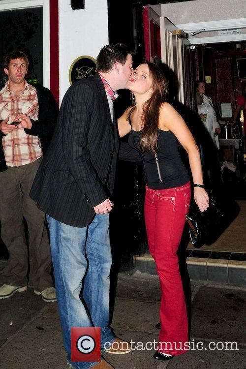 Graeme Hawley and Vicky Binns 'Coronation Street' cast...