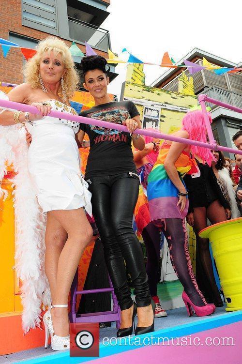 Beverley Callard and Kym Marsh Manchester's Gay Pride...