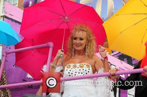 Beverly Callard Manchester's Gay Pride parade Manchester, England