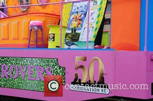 'Coronation Street' float Manchester's Gay Pride parade Manchester,...
