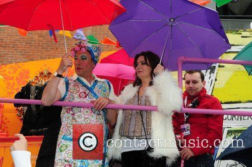 Manchester's Gay Pride parade Manchester, England
