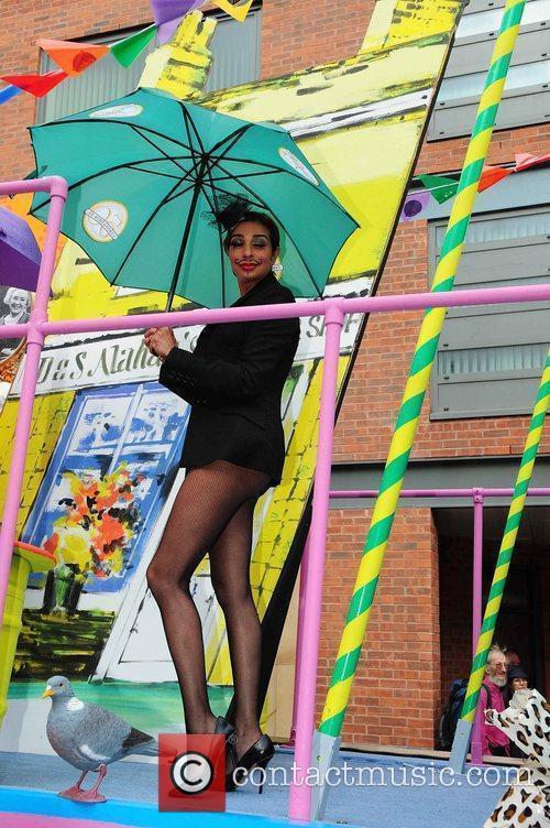Shobna Gulati Manchester's Gay Pride parade Manchester, England