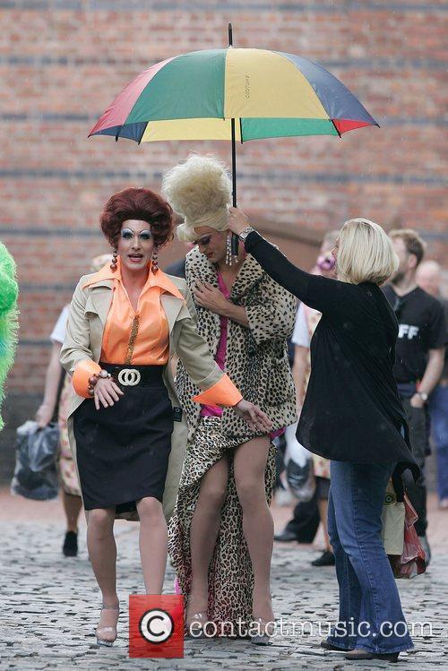 Manchester's Gay Pride Parade and Sacha Parkinson 1