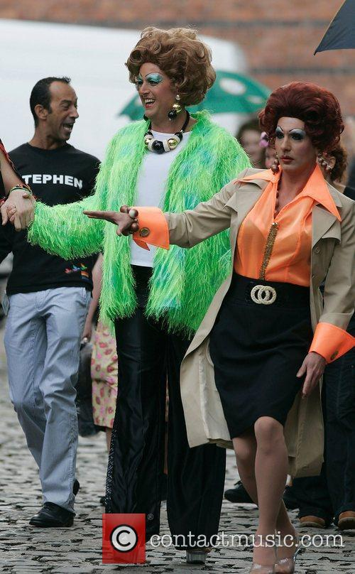 Manchester's Gay Pride Parade and Shobna Gulati 3
