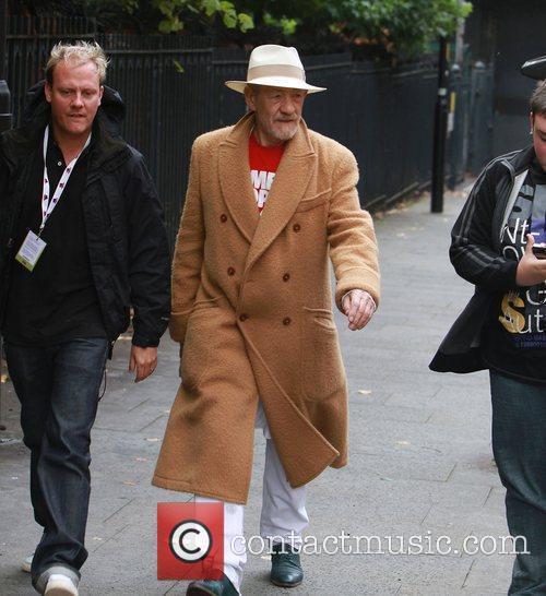 Sir Ian Mckellan, Ian Mckellen and Sacha Parkinson 11