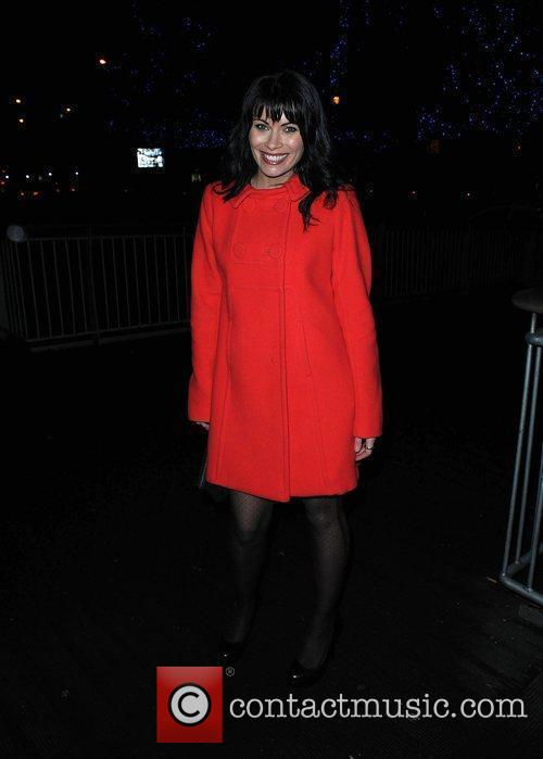 Alison King The Coronation Street Christmas Party held...