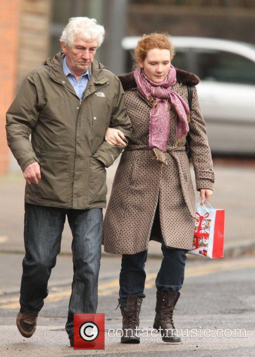 'Coronation Street' stars arrive at the Granada Studios