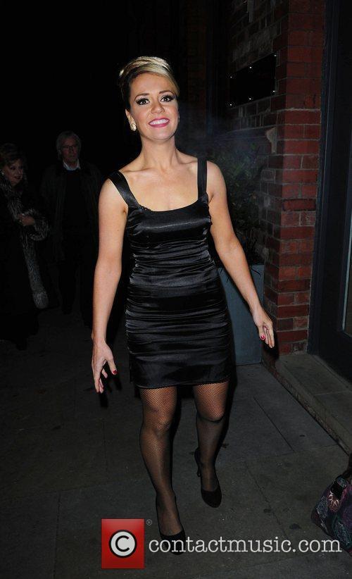 Rachael Leskovac arrives at Great John Street Hotel...