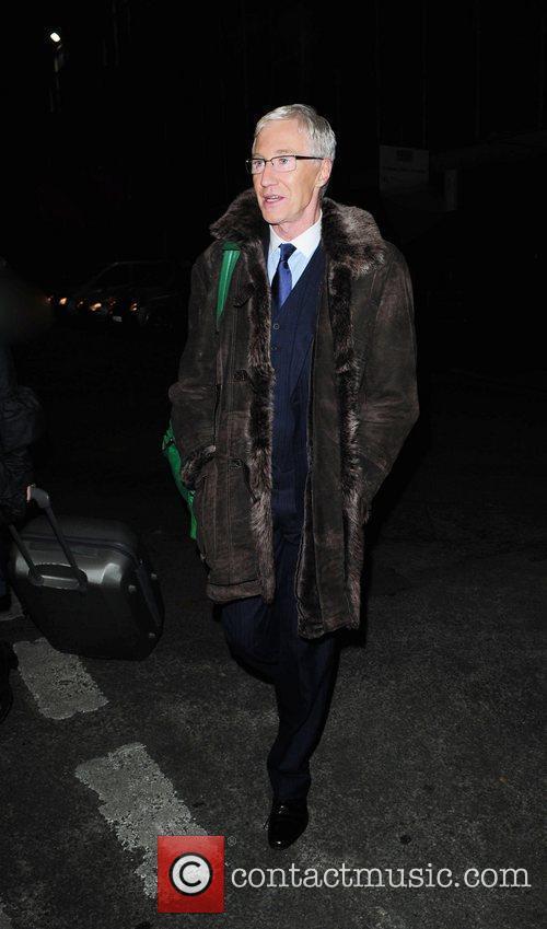 Paul O'Grady arrives at Great John Street Hotel...