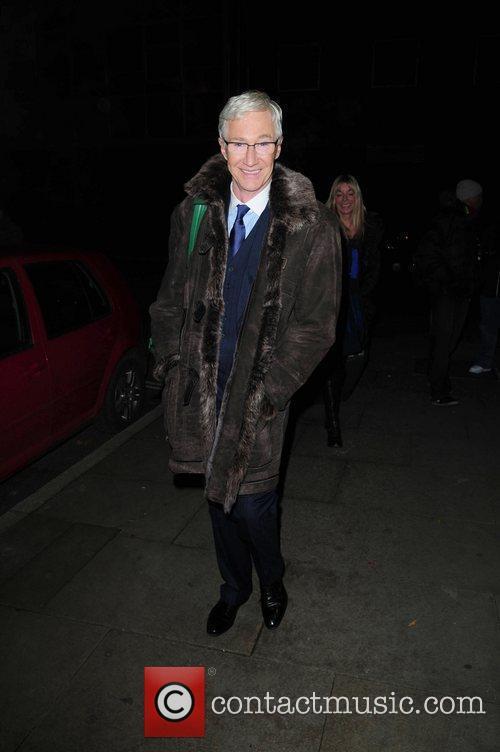 Paul Ogrady arrives at Great John Street Hotel...