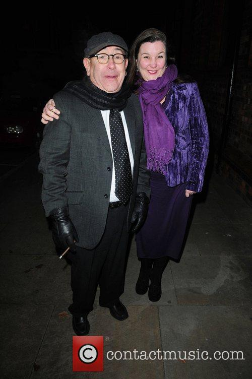 Malcolm Hebbdon and Pattie Claire arrive at Great...