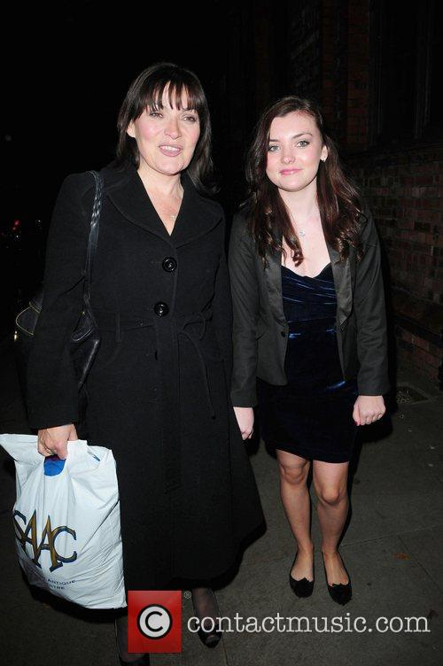 Lorraine Kelly and daughter arrives at Great John...