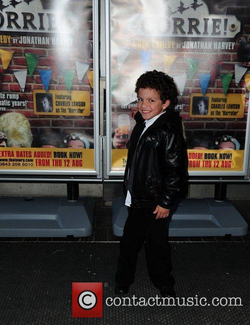 Alex Bain 'Corrie' the play - Press night...