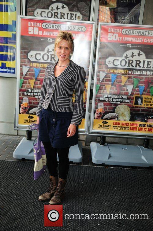 Beth Cordingly 'Corrie' the play - Press night...