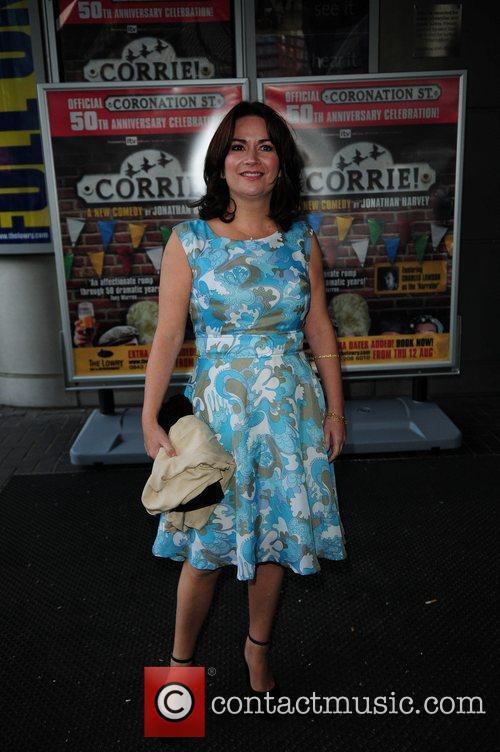 Debbie Rush  'Corrie' the play - Press...