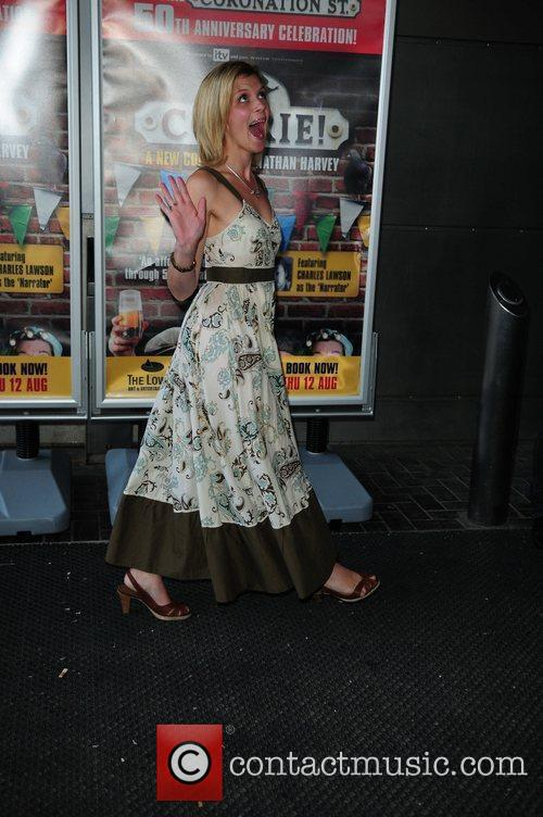 Jane Danson 'Corrie' the play - Press night...
